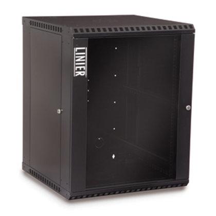 103919 15U Fixed Wallmount Cabinet Glass Door