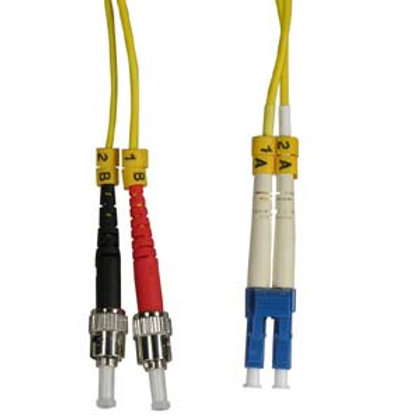 102868 2m LC-ST Duplex Singlemode 9/125 Fiber Opt