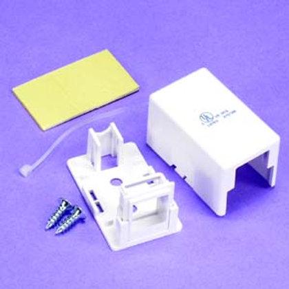 101911WT 1 Port RJ45 Surface Mount Box White (Box