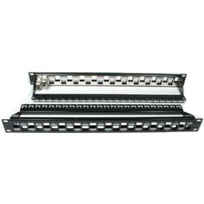 102237 Cat.6A 24-Port Snap-in Shielded Blank Patch