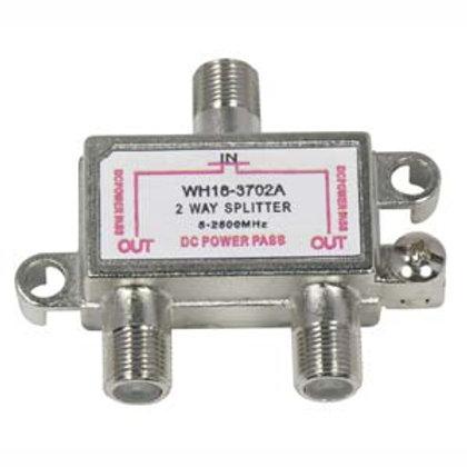 203004 2Way 2.5GHz Satellite Splitter DC Power Pas