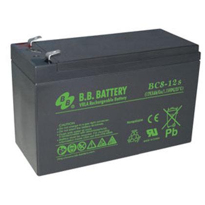 501024 12V 8Ah Battery T2 Terminal, BC8-12-T2