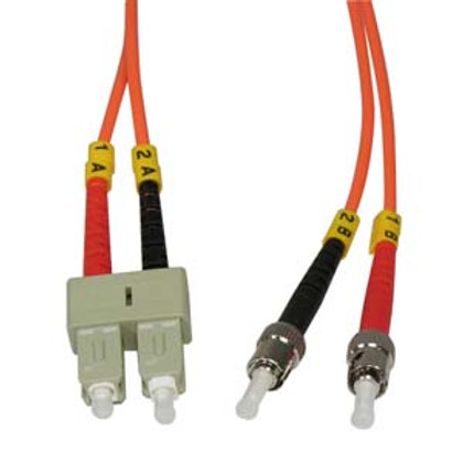 102932 .3m ST-SC Duplex Multimode 62.5/125 Fiber O