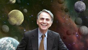"""Tribute to Carl Sagan: """"Pale Blue Dot"""""""