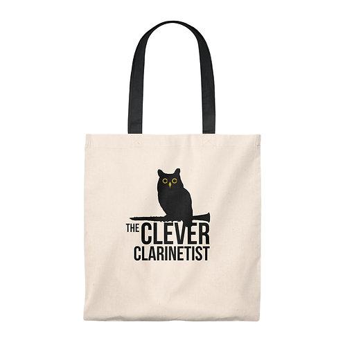 Clever Clarinetist Tote Bag - Vintage