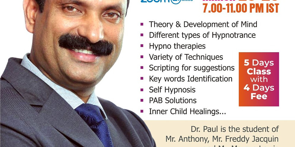 Clinical Hypnotherapy Certification Training