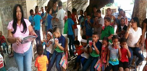 Donaciones del Programa Chrismass Child