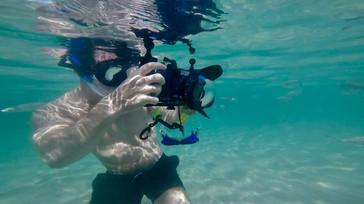 Filming Mullet, Fuerteventura