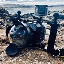 Sony RX100 & Seafrogs Housing with GoPro Hero 5