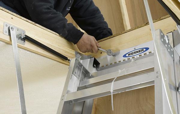 Attic Ladder Installatin Jacksonville
