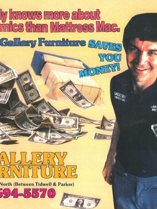 Gallery Furniture SAVES YOU MONEY!