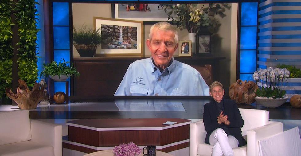 Mack's interview with Ellen