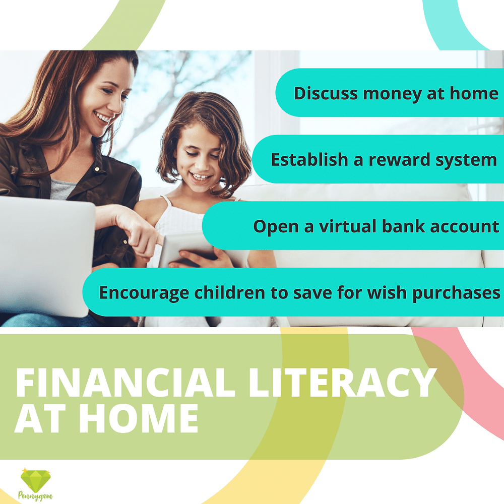 education tips, financial literacy, financial stability, finance at home, children, parents, family, finance