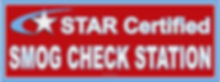 star certified smog check smog test smog repair