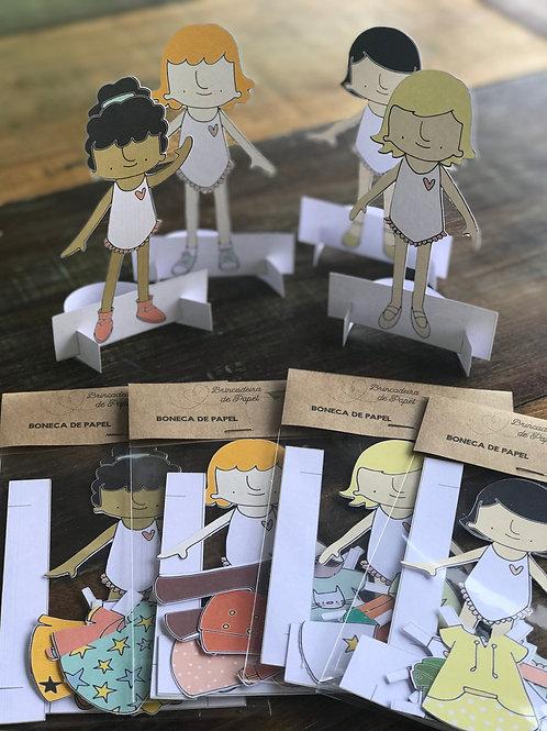 100- Bonecas(os) de Papel - Edição Especial