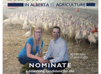 Nominations for Outstanding Young Farmers - Alberta/NWT are now open!