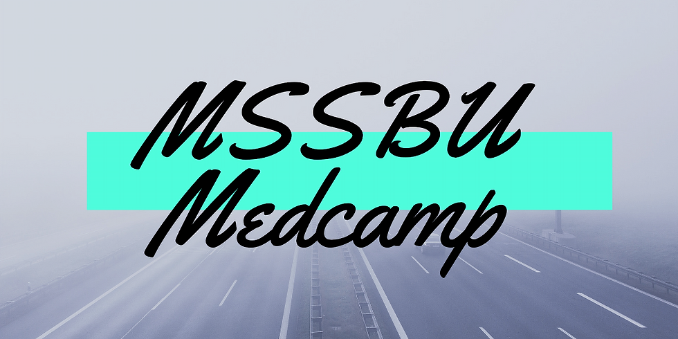Medcamp 2019 - 1st Years