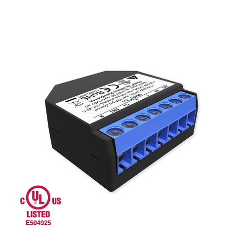 Shelly 2.5 WiFi operated double relay switch & roller Shutter control