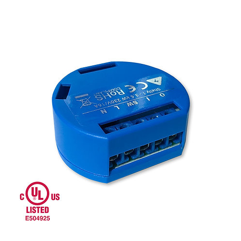Shelly 1 WiFi operated Switch Relay