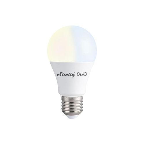 Shelly DUO WiFi operated Smart Bulb