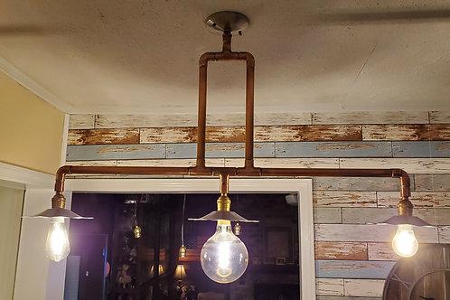 Copper Tube Smart Chandelier