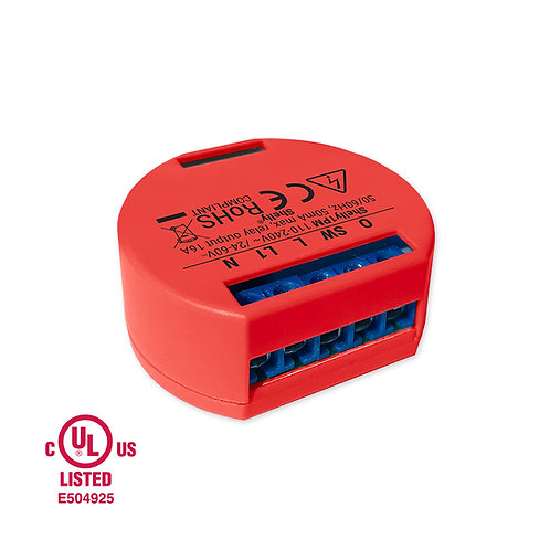 Shelly 1 PM WiFi operated Relay Switch