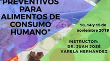 """CURSO - CERTIFICACION"" - CONTROLES PREVENTIVOS PARA ALIMENTOS DE CONSUMO HUMANO."