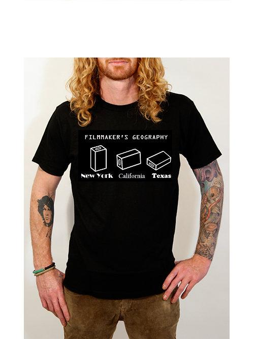 Filmmaker's Geography T-Shirt