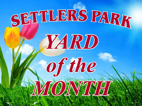 Yard of the Month Returns in May!
