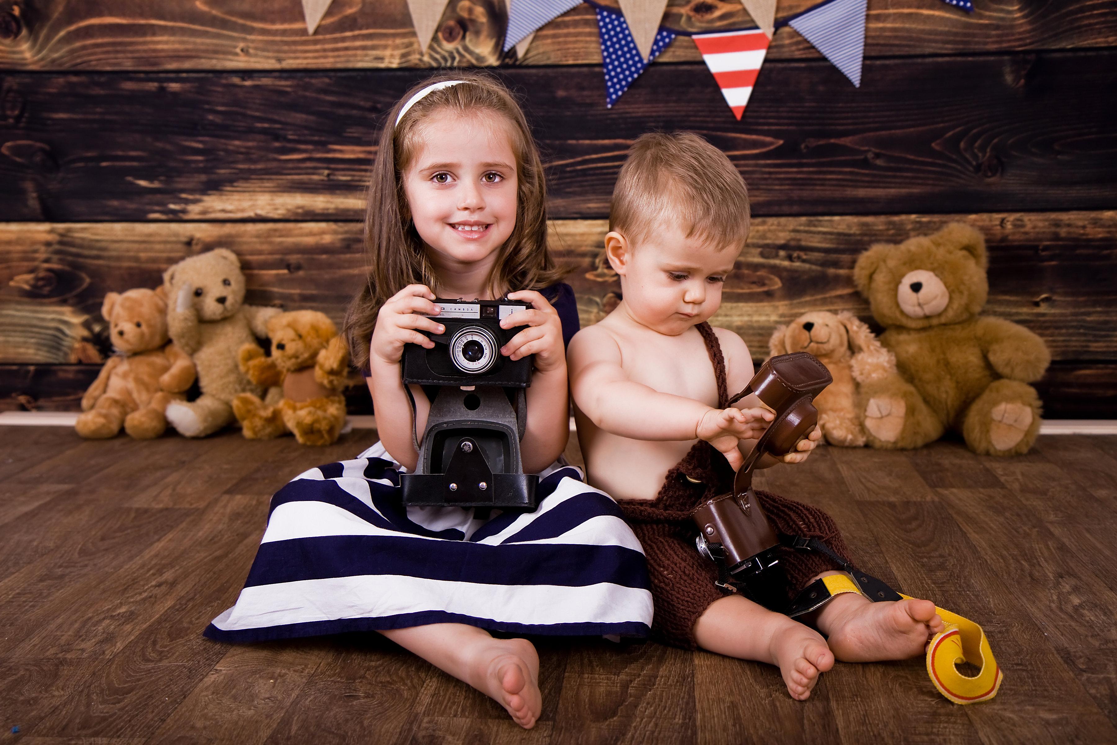 детски фотосесии в студио