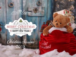 Коледни фото сесии 2018