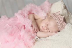 Новороденна принцеса на 15 дни