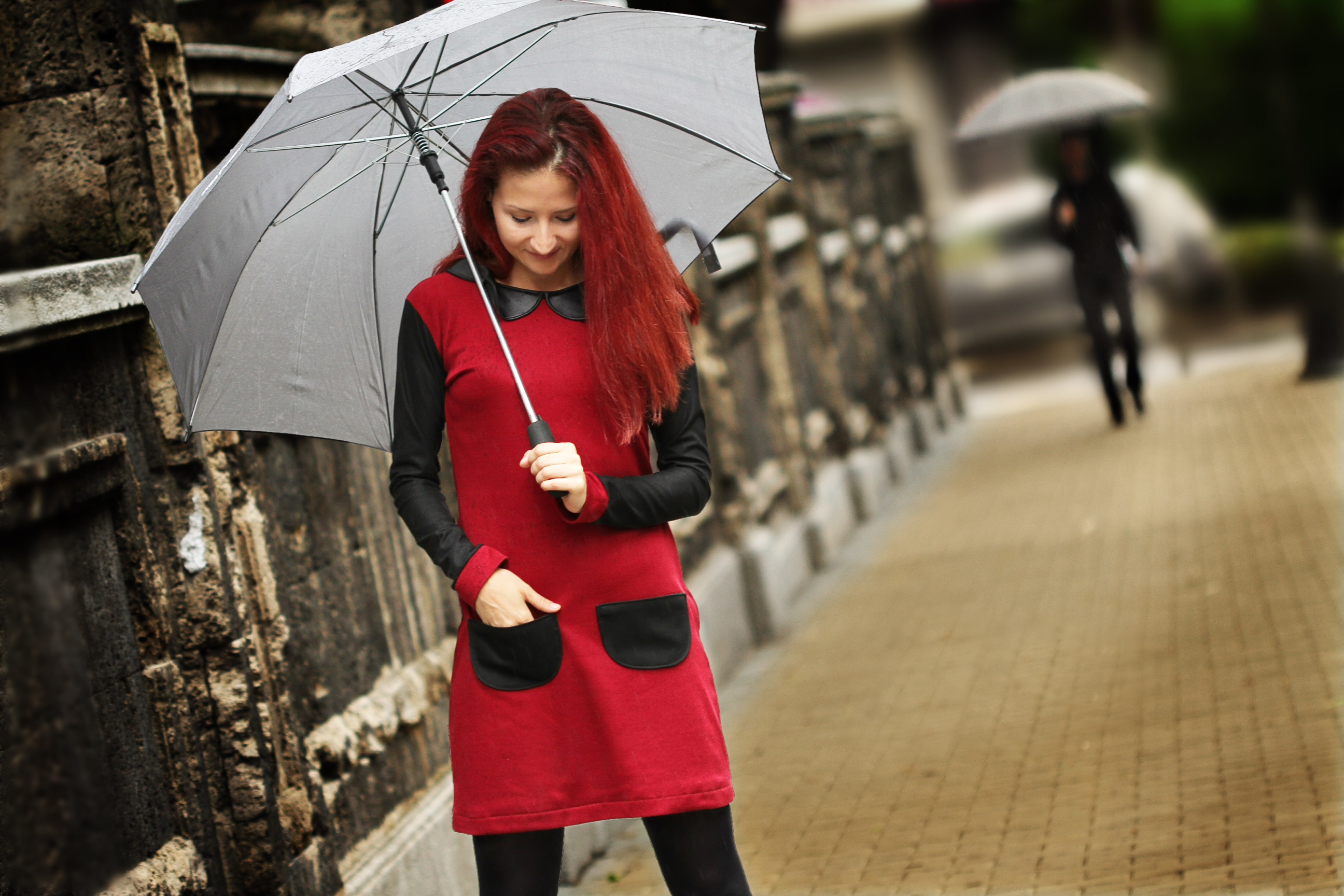 Red Dress by Custom Woman