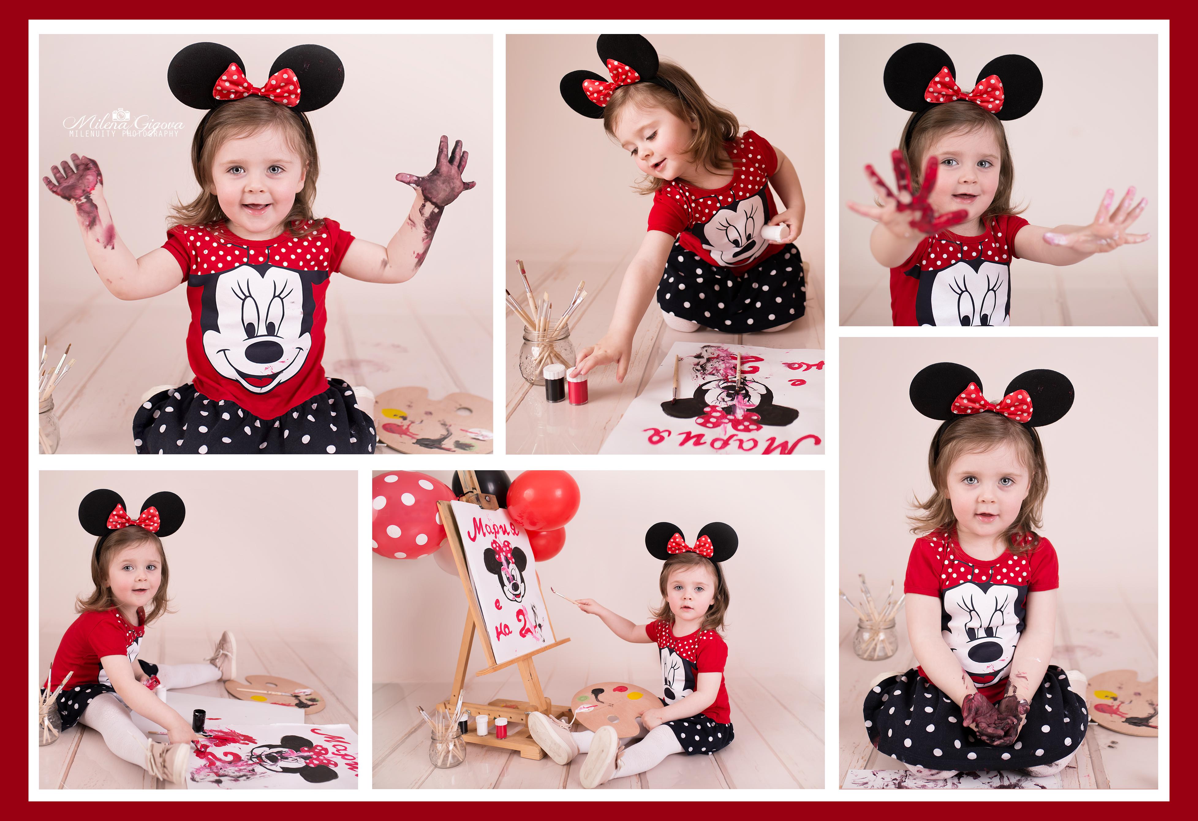 cake smash детски фотограф сесии