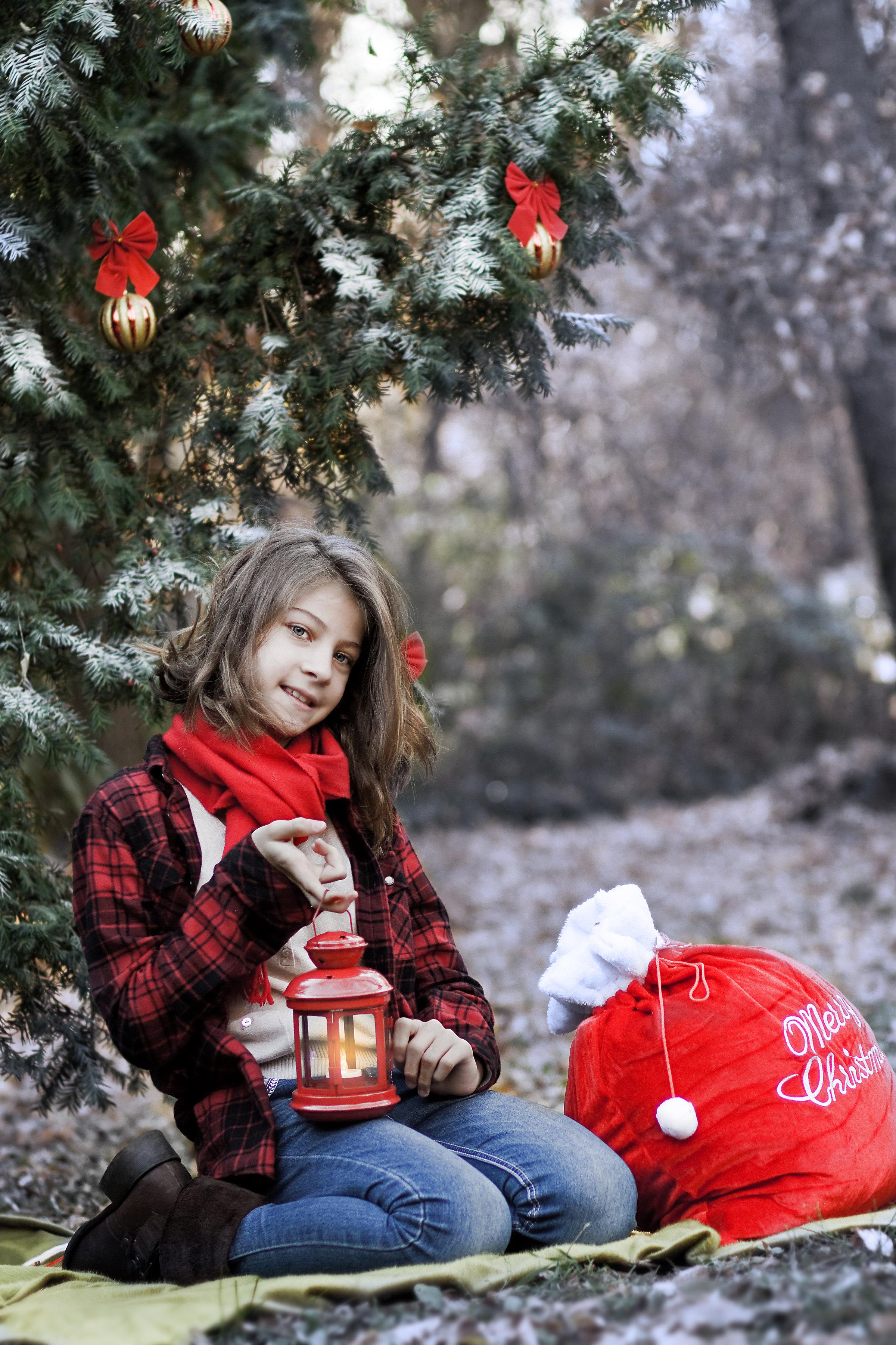 Коледни фотосесии, гр. София