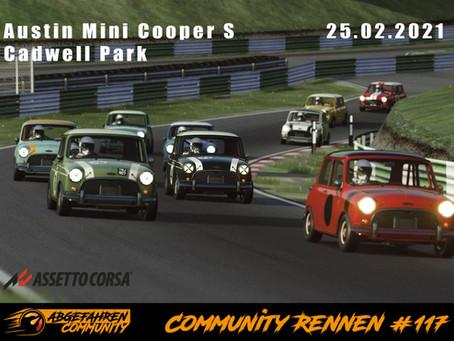 CR #117 | Austin Mini Cooper S @ Cadwell Park | 25.02.2021