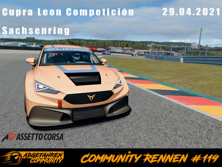 CR #119 | Cupra Leon Competición @ Sachsenring | 29.04.2021