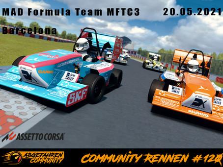 CR #120 | MAD Formula Team MFTC3 @ Barcelona | 20.05.2021