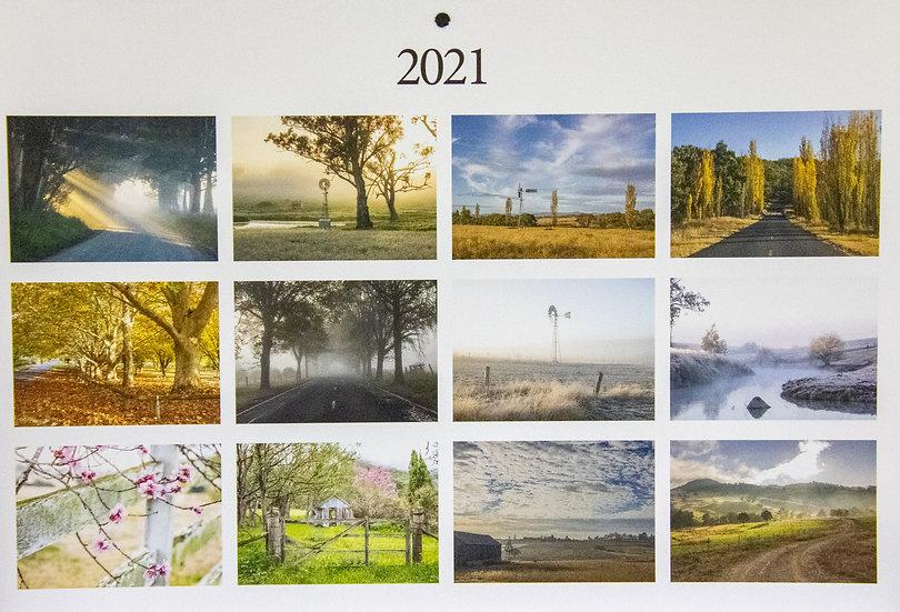 2021 Quirky Tenterfield Calendar