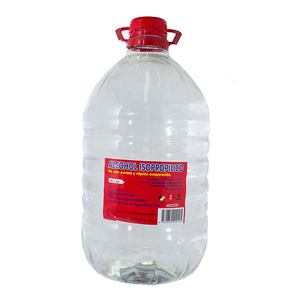 Alcohol Iso propilico 5 lts