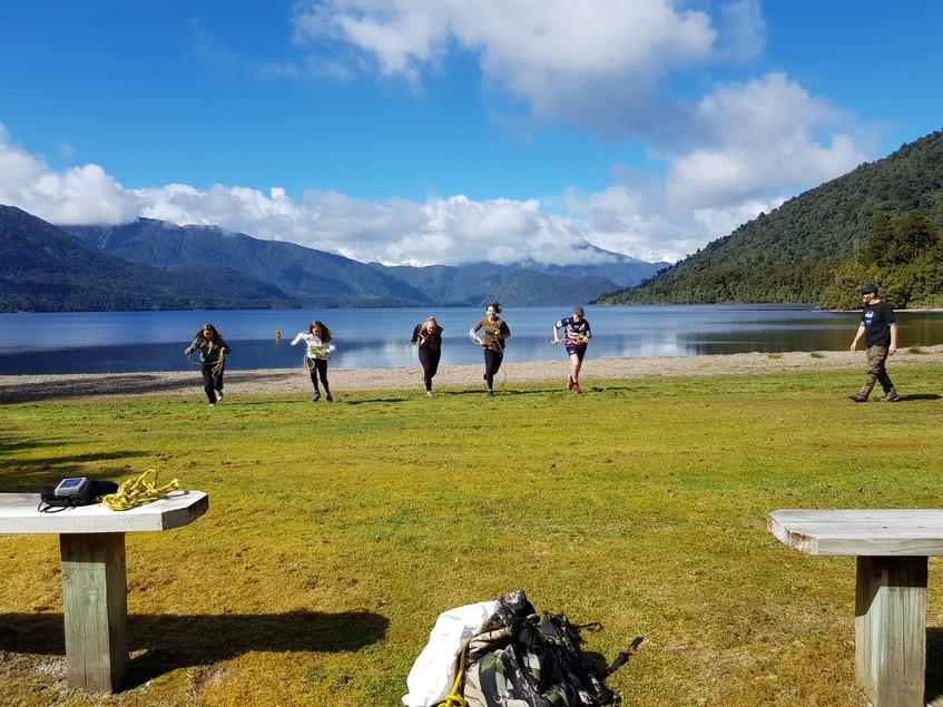 20180925_Lake Kaniere rope run
