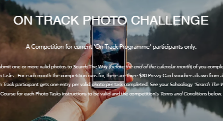 'PHOTO CHALLENGE' COMPETITION - NOW OPEN