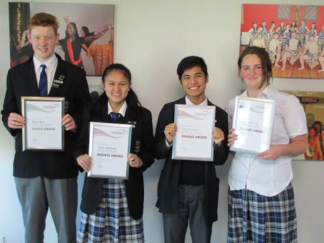 Congrats to Buller High Award Recipients