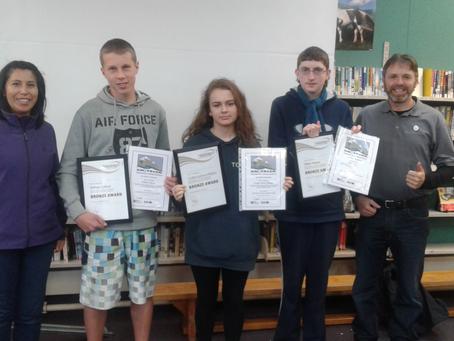 Karamea Area School Students Receive Awards
