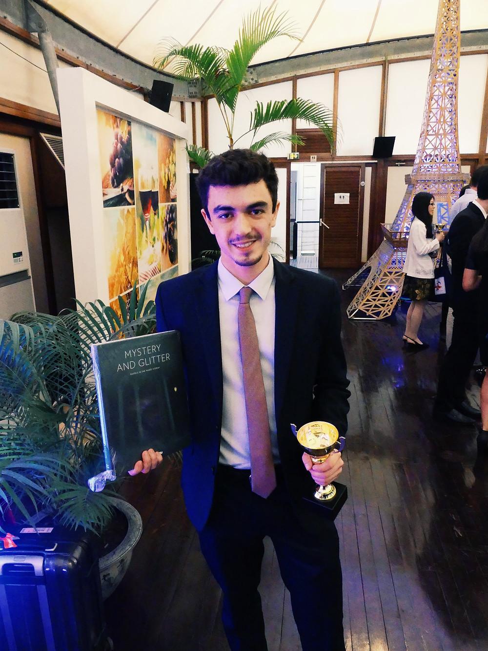 Lucas Despujols, vainqueur de la finale Inter-Asie