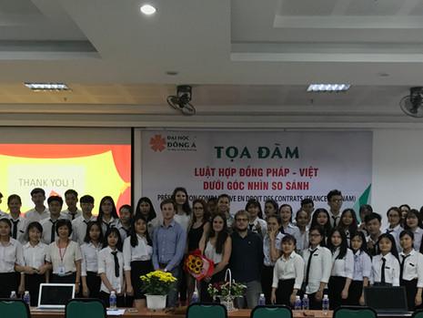 Séminaire d'échanges juridiques et culturels à l'Université de Da Nang