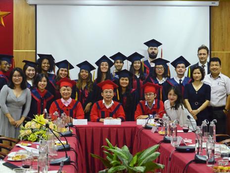 Cérémonie de remise des diplômes de la promotion Lebadang
