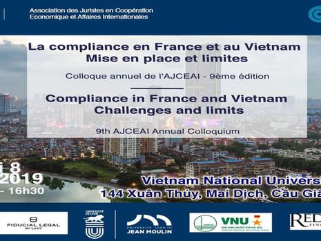 Colloque annuel de l'AJCEAI édition 2019 - La compliance en France et au Vietnam