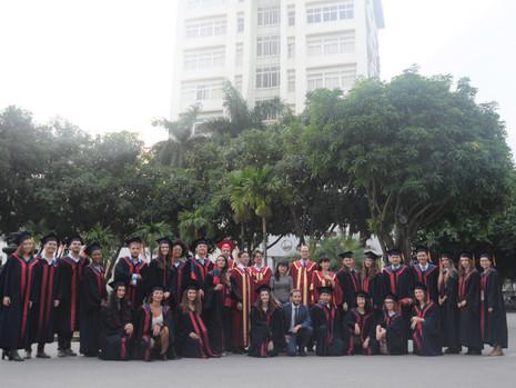 Cérémonie de remise des diplômes de la promotion Paul Monin