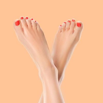 perfekte Füße